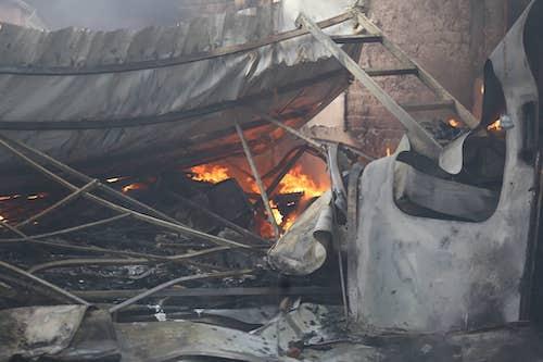 bảo hiểm cháy nổ bắt buộc gara ô tô