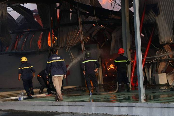 Bảo hiểm cháy nổ nhà xưởng mùa nắng nóng
