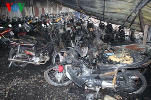 Mua bảo hiểm cháy nổ bắt buộc bãi đỗ xe