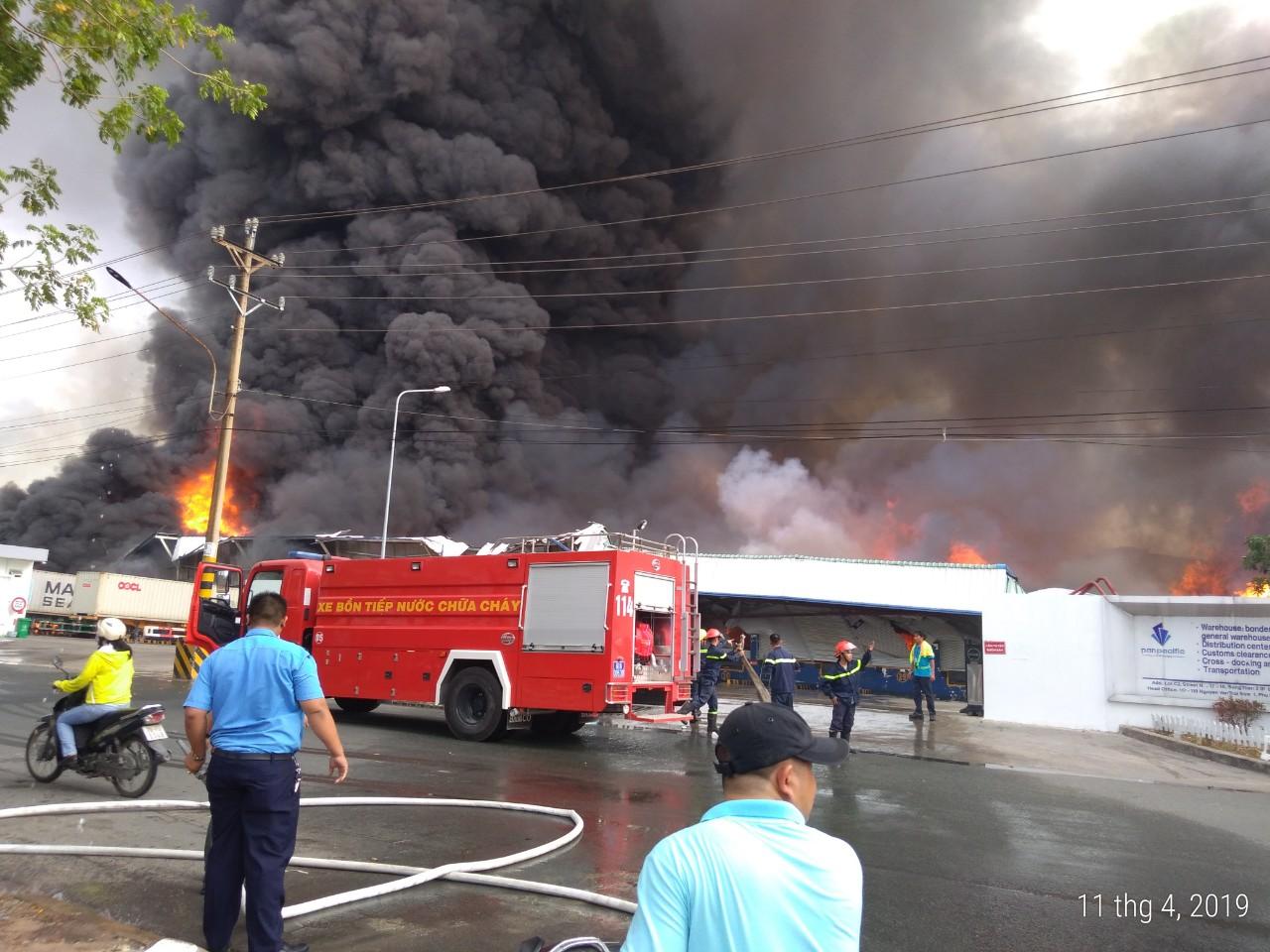 Bảo hiểm cháy nổ nhà kho sơn hóa chất