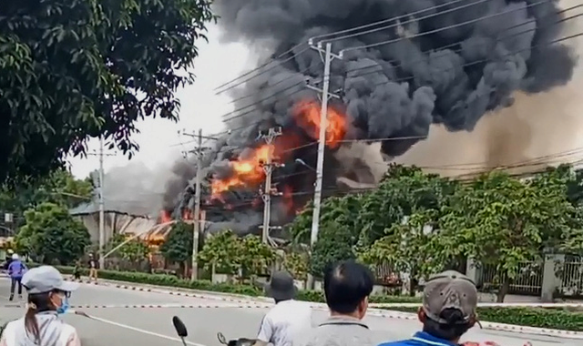 Bảo hiểm cháy nổ cho công ty sản xuất