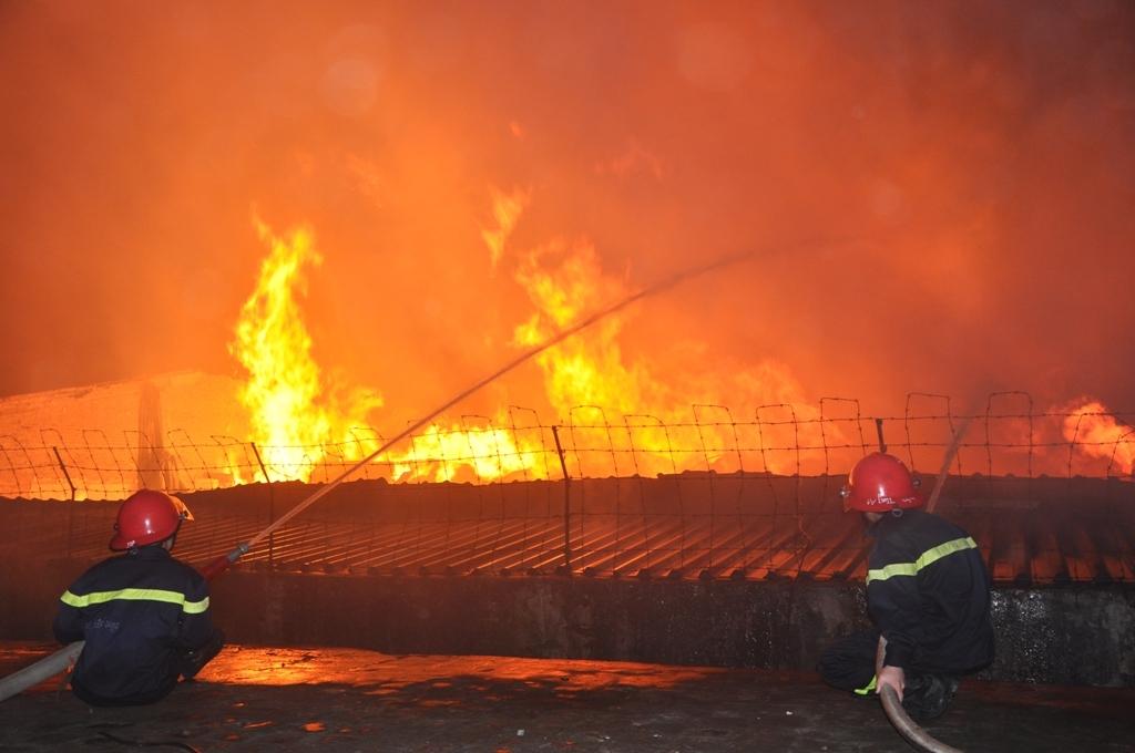 Bảo hiểm cháy nổ kho xưởng