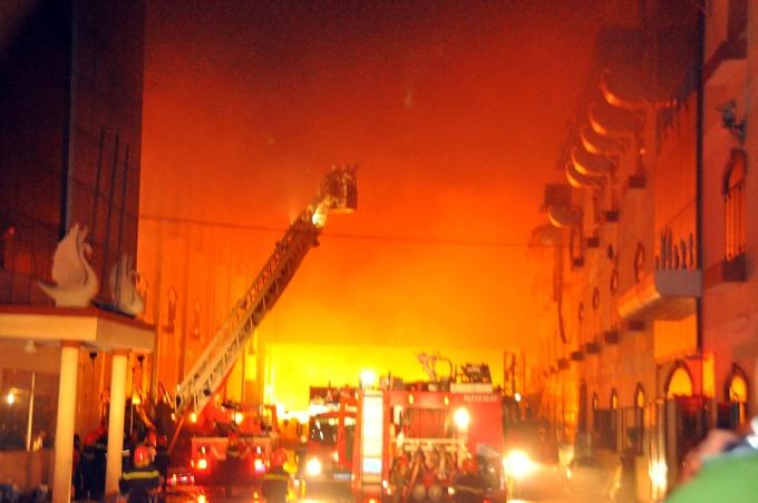 bảo hiểm cháy nổ trung tâm thương mại