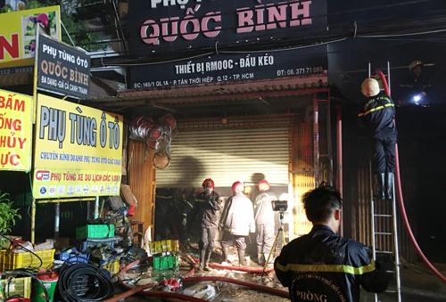 Bảo hiểm cháy nổ cửa hàng phụ tùng ô tô