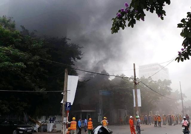 Bồi thường bảo hiểm cháy nổ nhà kho